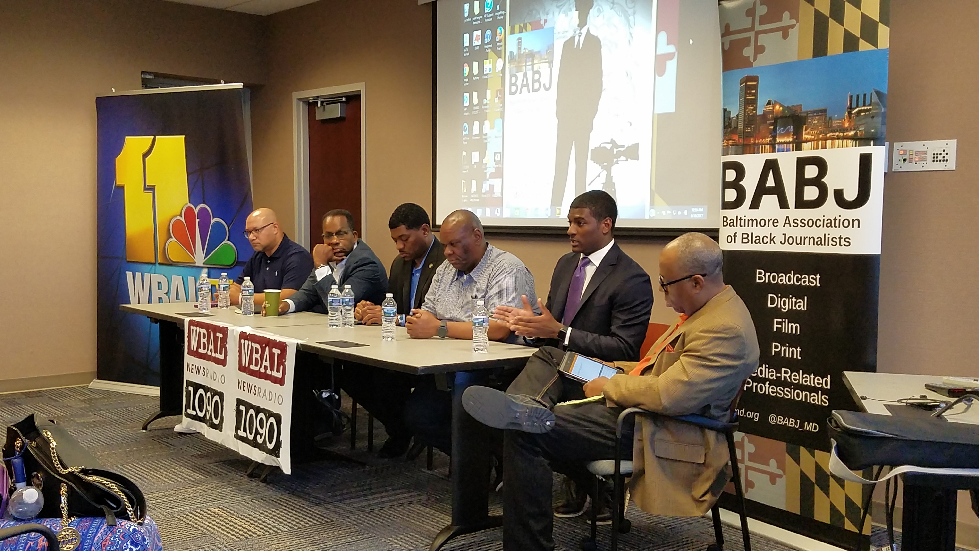 The Baltimore Association of Black Journalists hosted its inaugural Black  Male Media Project June 10, 2017 at WBAL-TV 11 & WBAL 1090 AM Radio.